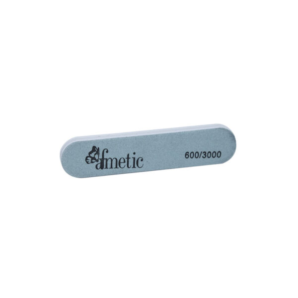 Afmetic Nail File Buffer Shine White & Green - Pack of 10