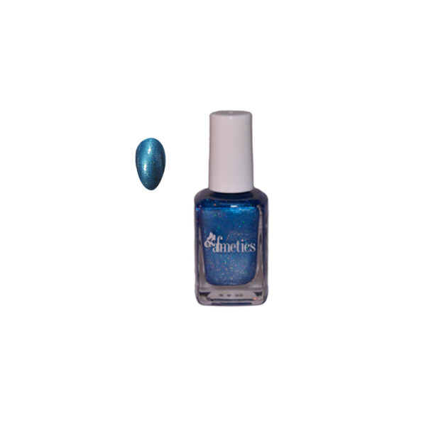 Hot & Sexy Nail Polish - Blue Diamonds