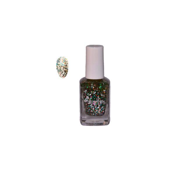 Nail Polish Bossy Colors - Multi Glitter